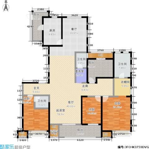 中大未来城3室0厅3卫1厨205.00㎡户型图