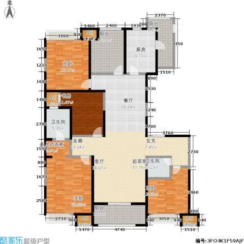 中大未来城4室0厅2卫1厨187.00㎡户型图