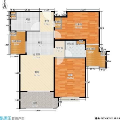 西康路9892室0厅1卫1厨88.00㎡户型图