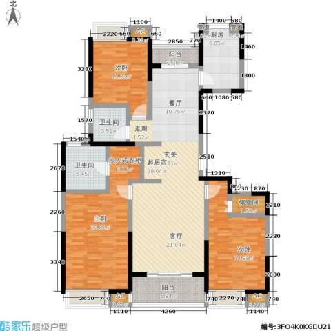 联美品悦3室0厅2卫1厨134.00㎡户型图