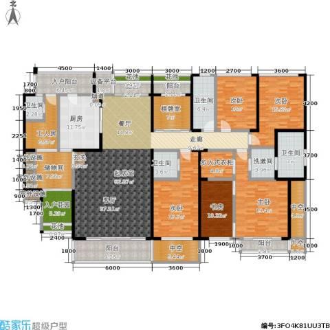 海峡国际社区5室0厅4卫1厨292.00㎡户型图