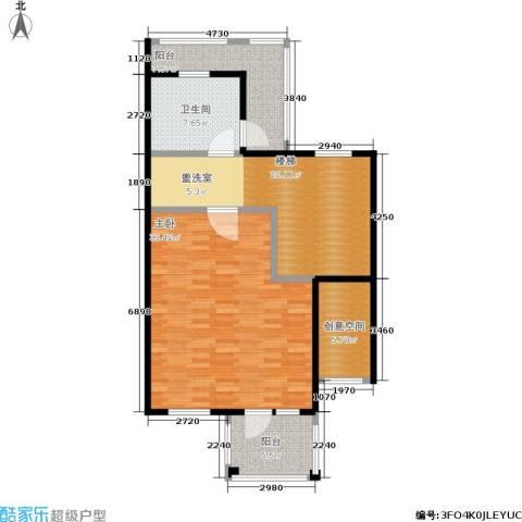 达安御廷别墅1室0厅1卫0厨90.00㎡户型图
