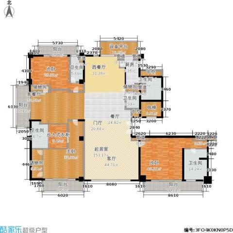 宛平883室0厅5卫1厨424.00㎡户型图