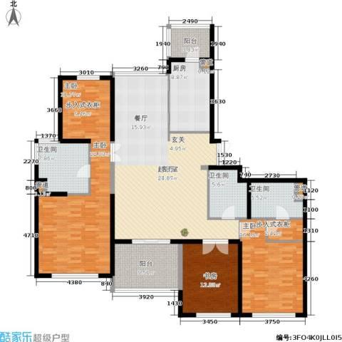 公馆773室0厅3卫1厨170.00㎡户型图