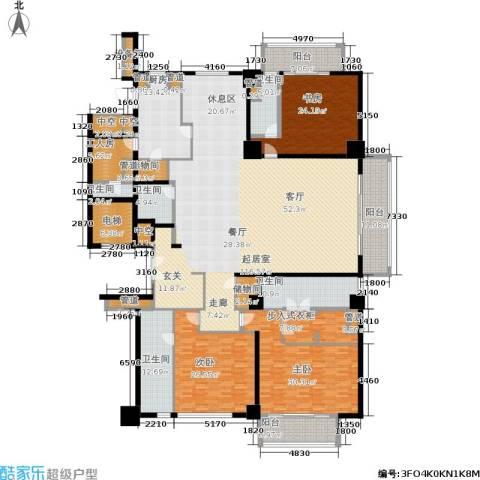 宛平883室0厅5卫1厨348.00㎡户型图