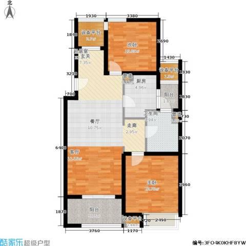 浦江华侨城2室0厅1卫1厨90.00㎡户型图