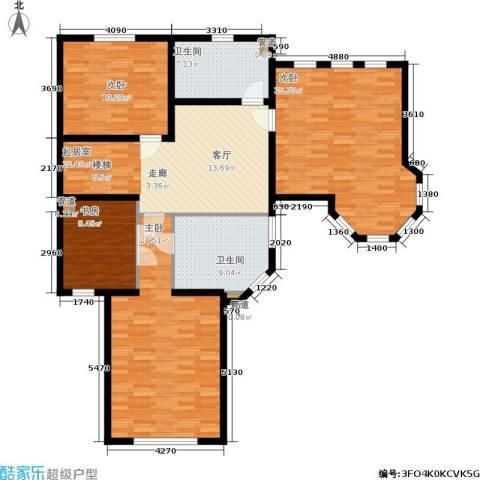 宫4室0厅2卫0厨156.00㎡户型图
