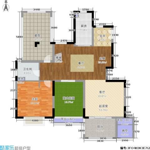 佳兆业城市广场1室0厅1卫1厨145.00㎡户型图