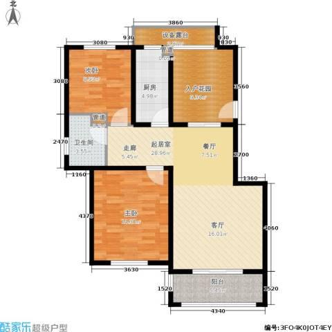 公馆10882室0厅1卫1厨89.00㎡户型图