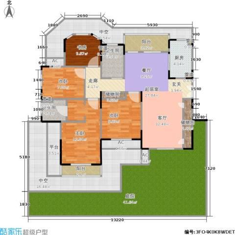 乾耀东港4室0厅2卫1厨171.00㎡户型图