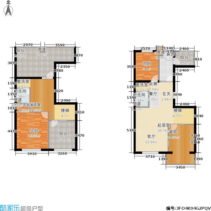 高教新城·学区嘉园145.00㎡高教新城・学区嘉园和畅园W跃5&7号楼户型