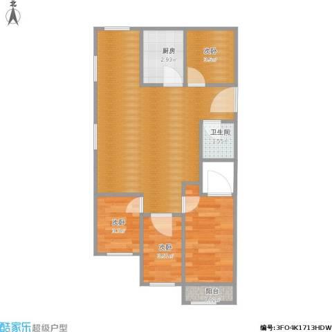 文东花园4室1厅2卫1厨121.00㎡户型图