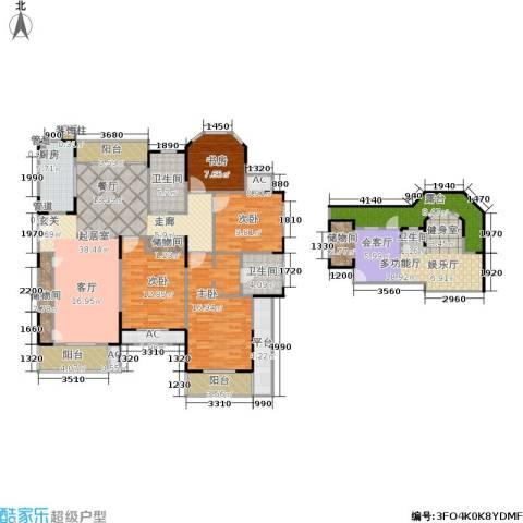 乾耀东港4室0厅3卫1厨173.00㎡户型图
