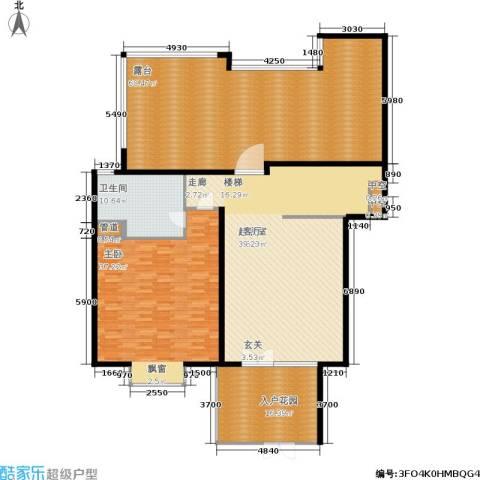 聚丰景都1室0厅1卫0厨197.00㎡户型图