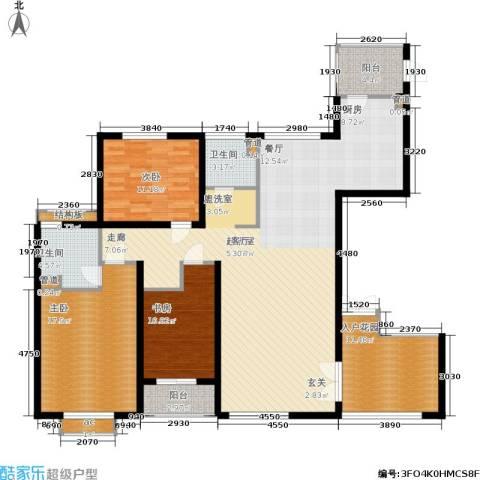聚丰景都3室0厅2卫0厨142.00㎡户型图