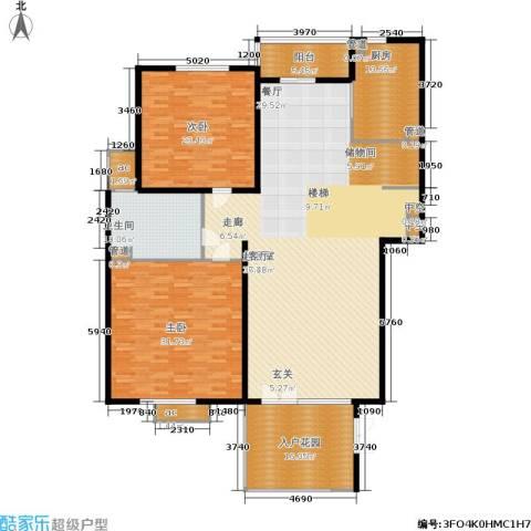 聚丰景都2室0厅1卫1厨197.00㎡户型图