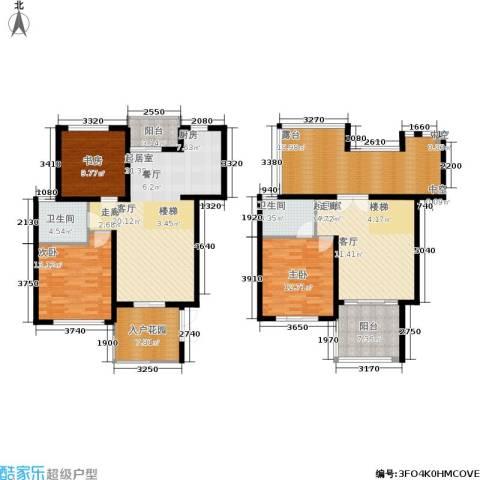 聚丰景都3室0厅2卫0厨152.00㎡户型图