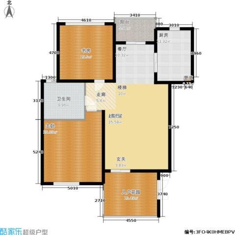 聚丰景都2室0厅1卫1厨152.00㎡户型图