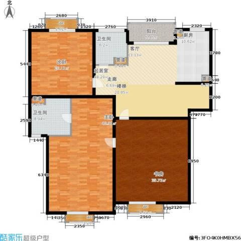 聚丰景都3室0厅2卫0厨203.00㎡户型图