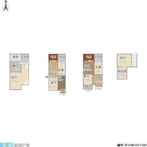 博雅苑5室2厅3卫1厨344.00㎡户型图