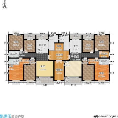 阳光新城8室0厅4卫2厨254.28㎡户型图