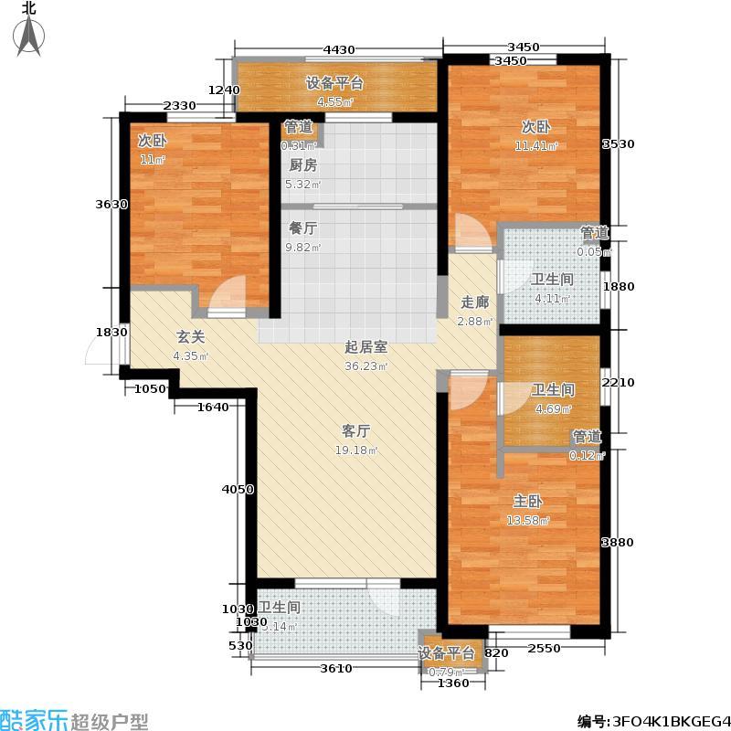 华润海中国五期6号楼G户型