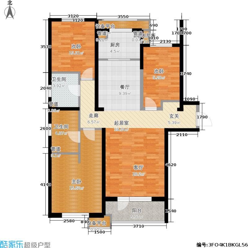 华润海中国五期6号楼C户型