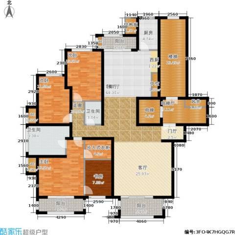麦迪逊花园二期4室1厅2卫1厨268.00㎡户型图