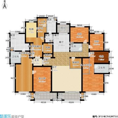 麦迪逊花园二期4室1厅3卫3厨399.00㎡户型图