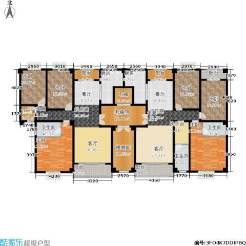 阳光新城6室0厅4卫2厨229.23㎡户型图
