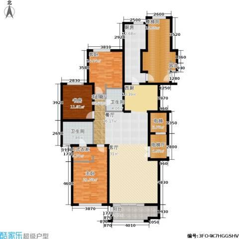 麦迪逊花园二期3室1厅2卫1厨239.00㎡户型图