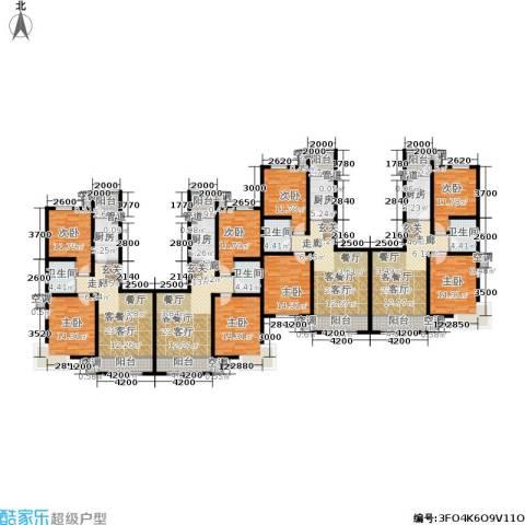 海泰海港花园8室4厅4卫4厨270.83㎡户型图