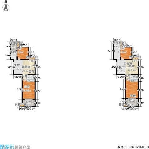 金邸山庄4室0厅2卫2厨238.00㎡户型图