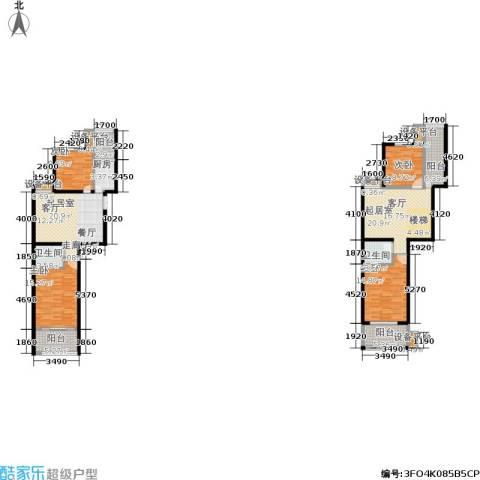 金邸山庄4室0厅2卫1厨179.00㎡户型图