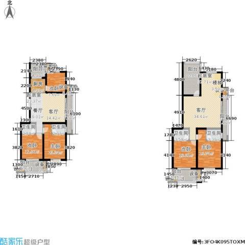 金邸山庄5室0厅4卫1厨254.00㎡户型图