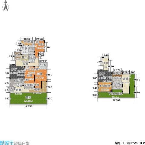 香漫溪岸3室0厅2卫1厨306.43㎡户型图