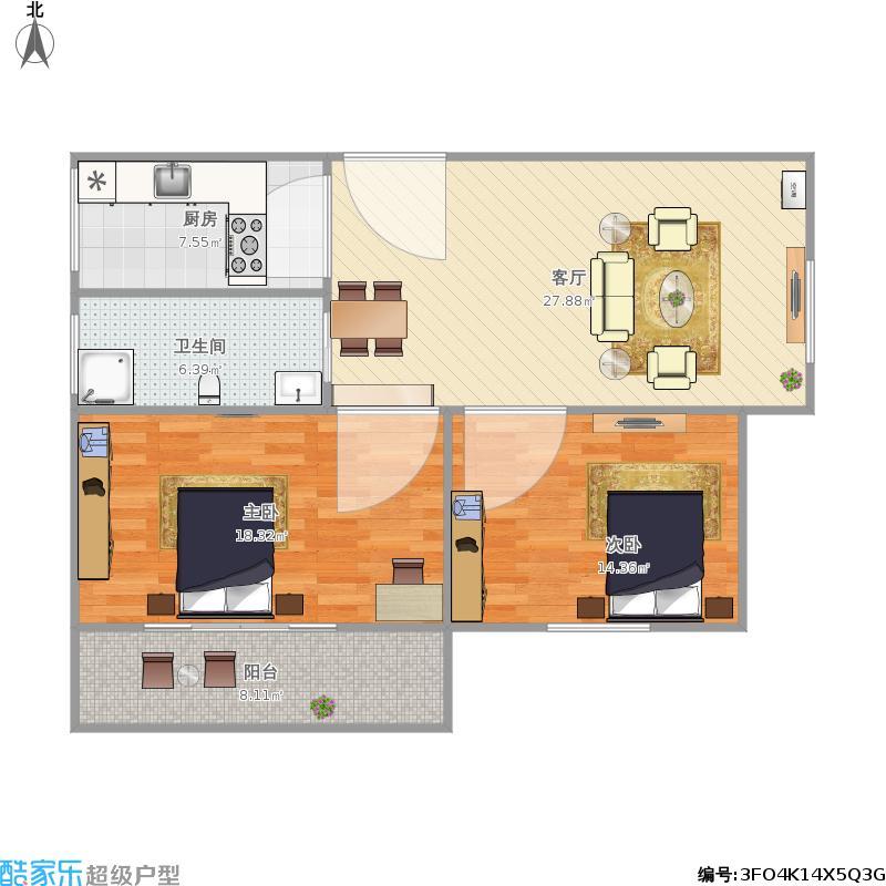 爱尚公寓6-1-1402