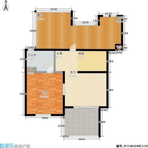 聚丰景都1室0厅1卫0厨152.00㎡户型图