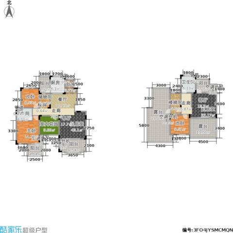 香漫溪岸3室0厅2卫1厨198.34㎡户型图
