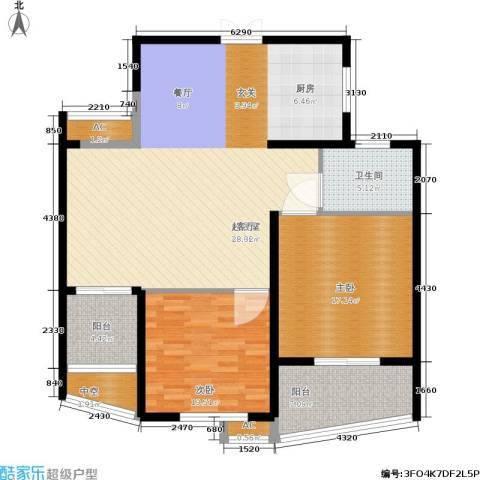 紫金凰庭2室0厅1卫0厨138.00㎡户型图