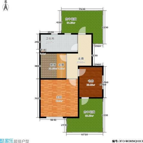 农房恒海国际花园2室0厅1卫0厨203.29㎡户型图