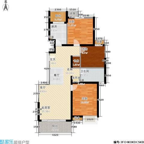 绿岛江湾城4室0厅1卫1厨105.00㎡户型图