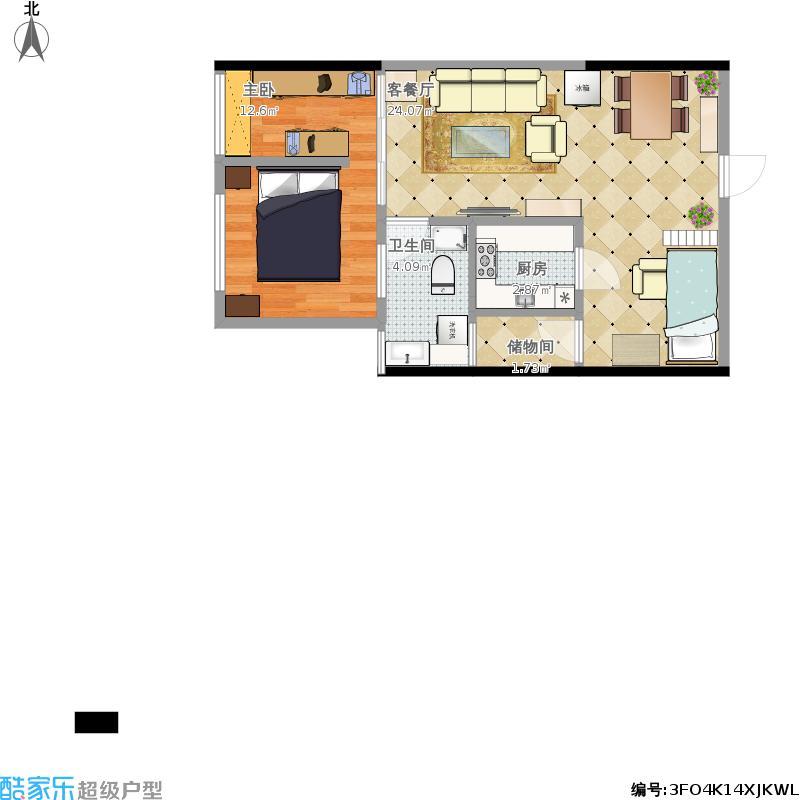 59方两室一厅