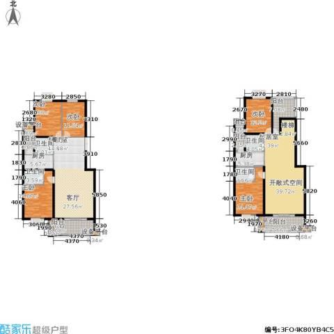 金邸山庄5室0厅4卫2厨294.00㎡户型图