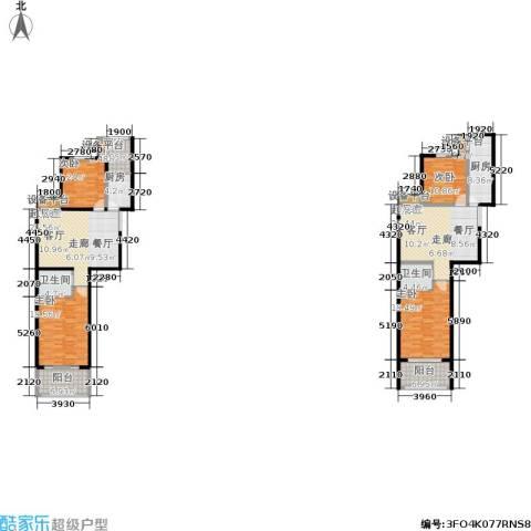 金邸山庄4室0厅2卫2厨223.00㎡户型图