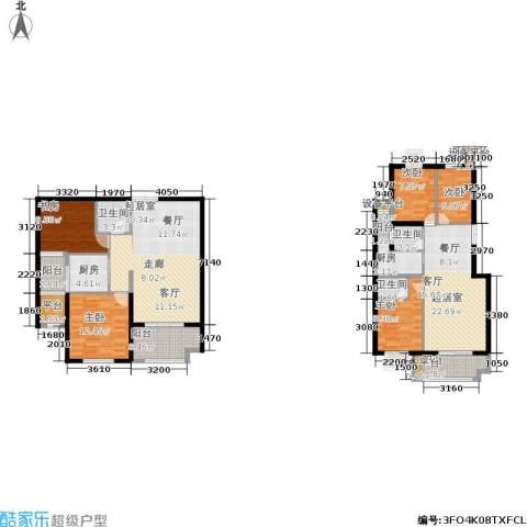金邸山庄5室0厅3卫2厨188.00㎡户型图