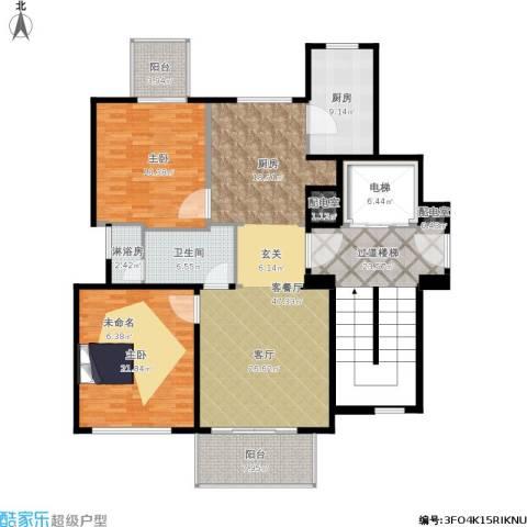 新华园2室1厅1卫1厨207.00㎡户型图