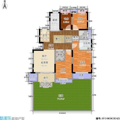 佳兆业城市广场4室0厅1卫1厨194.31㎡户型图