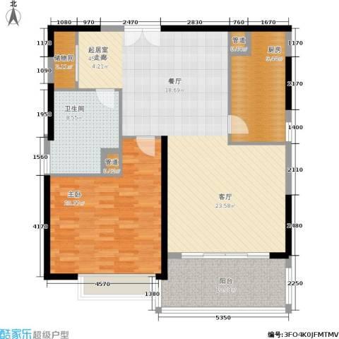 黄浦逸城1室0厅1卫1厨108.00㎡户型图