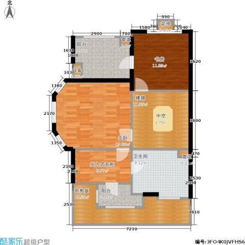 金球怡云花园玫瑰里2室0厅1卫0厨247.00㎡户型图